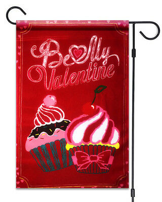 Be My Valentine Cup Cakes Garden Flag 12