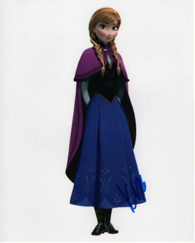 KRISTEN BELL SIGNED AUTOGRAPHED 8X10 PHOTO -VERONICA MARS PRINCESS ANNA FROZEN 4