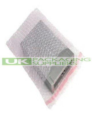 100 SMALL CLEAR SELF SEAL BUBBLE WRAP BAGS ENVELOPES SIZE 7 x 9