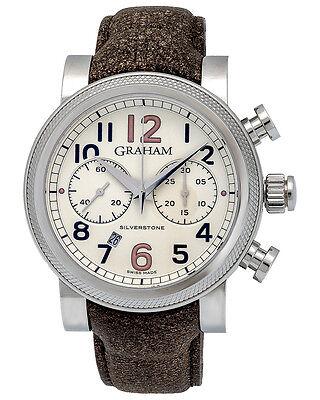 Graham Vintage Silverstone Vintage 30 Chronograph Watch - 2BLFS.W06A