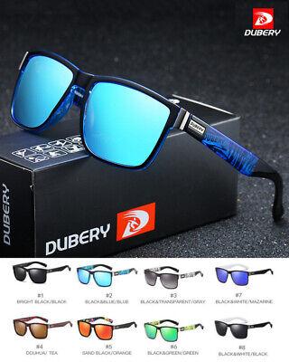 DUBERY Mens Polarized Sunglasses Sport Sun Glasses Outdoor Riding Driving UV400