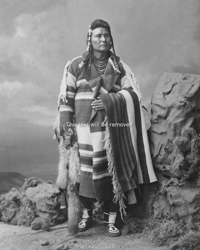 Native American Indian Chief Joseph  8x10 Photo Print