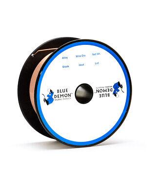 Er70s-6 .023 Mig Mild Steel Welding Wire 2 Lb Spool Blue Demon