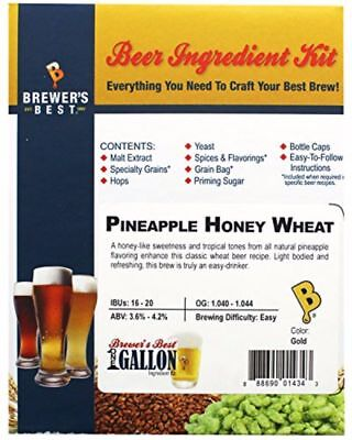 Brewer's Best Pineapple Honey Wheat One Gallon Home Brew Beer Ingredient