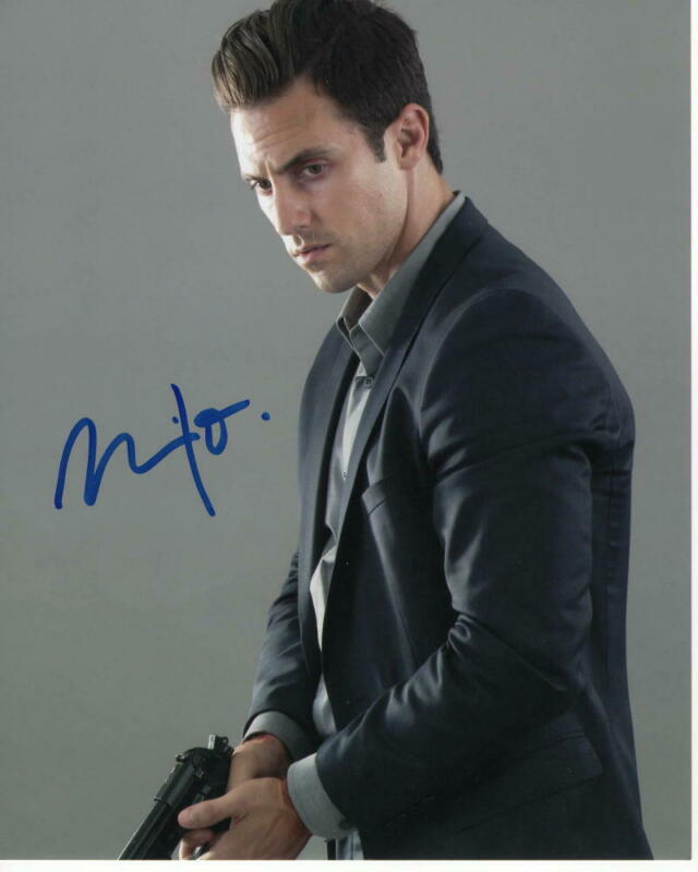 MILO VENTIMIGLIA SIGNED AUTOGRAPHED 8X10 PHOTO - THIS IS US STUD, GILMORE GIRLS