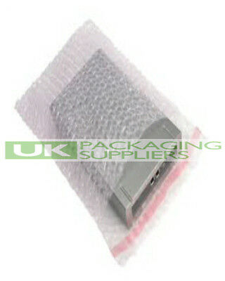 750 SMALL CLEAR SELF SEAL BUBBLE WRAP BAGS ENVELOPES SIZE 4 x 5