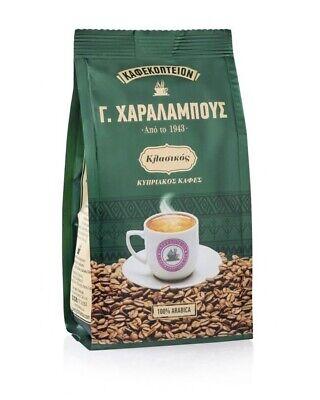 Tradicional Chipre Charalambous Clásico Café Molido 100% Arábica - 1 Paquete