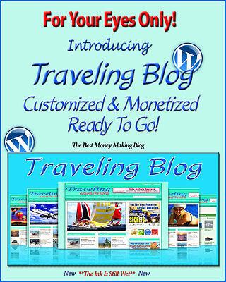 Travel Around The World Blog Self Updating Website Clickbank Amazon Adsense