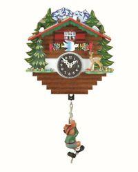 Black Forest Clock Swiss House  TU 59 SQ Bergsteiger NEW