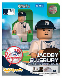 Jacoby-Ellsbury-OYO-New-York-Yankees-MLB-Mini-Figure-NEW-G4