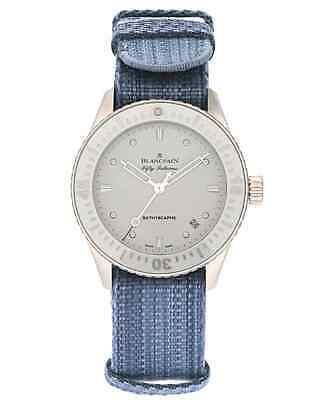 Blancpain Fifty Fathoms Bathyscaphe Steel Automatic Ladies Watch $9,500