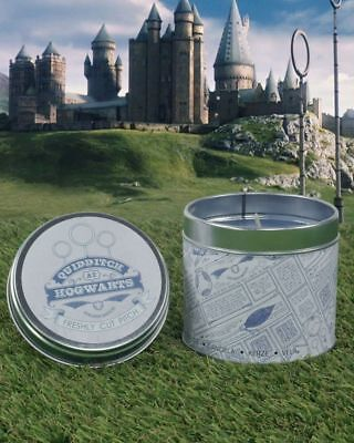 Official Harry Potter Quidditch Pitch Scented Candle Handmade in the UK