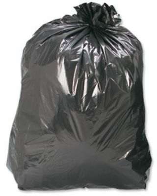 20 Black Refuse Sacks Bags Size 18x29x39