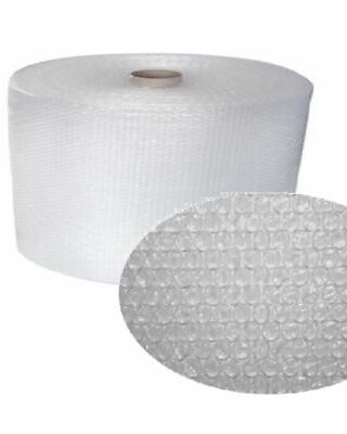 Roll Of Bubble Wrap 300mm x 100m Clear Quality UK Made Small Bubbles Free Post