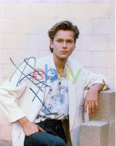 River Phoenix Autographed 8x10 Signed photo reprint