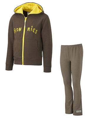 Kids Brownie Pack 3 Official Leggings and Hoodie - All Sizes - New ()