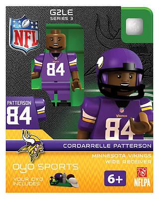 Cordarrelle Patterson NFL MINNESOTA VIKINGS Oyo Mini Figure  NEW G2 RARE