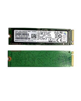 Samsung PM951 M.2 2280 256G NVME PCIe 3.0 x4 SSD  MZVLV256HCHP-0D1 BXV76D0Q