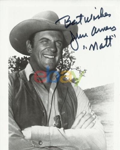 James Arness Gunsmoke Signed 8x10 Autographed Photo reprint