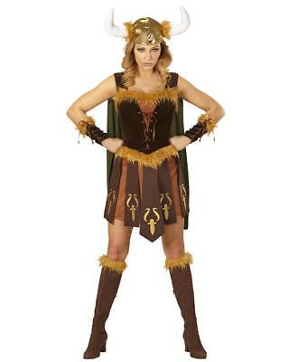 Costume Carnevale Donna Guerriera Vichinga PS - Vichinga Kostüm