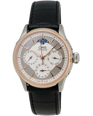 Oris Artelier Two-Tone Day/Date Automatic Ladies Watch - 01 581 7606 6351 FC