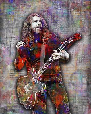 DAVE GROHL Of The FOO FIGHTERS 16x20in  Poster, Foo Fighters Print Free Shipping