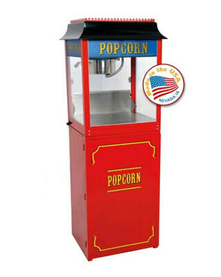 Red Paragon 1911 4 Ounce Popcorn Machine And Base Stand