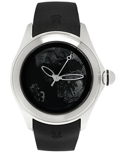 CORUM BUBBLE 47mm SKULL STAINLESS STEEL AUTOMATIC MEN'S WATCH LTD 88  $4,200 - watch picture 1