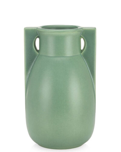Teco Buttress Two Vase - Green