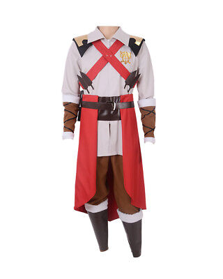 Cosplay Men (Trevor Belmont Castlevania Anime Cosplay Costume Outfit)