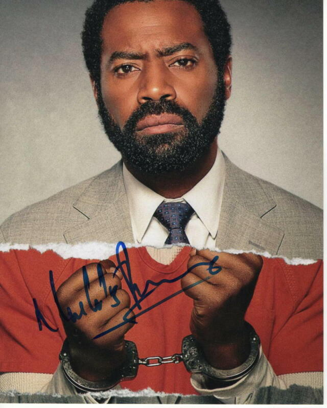NICHOLAS PINNOCK SIGNED AUTOGRAPH 8X10 PHOTO - MARCELLA, FOR LIFE, 50 CENT