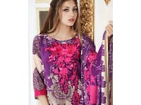 Original charizma winter heavy embroidered unstitched pashmina shawl wow deal