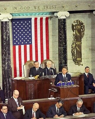 President John F. Kennedy gives 1963 State of the Union Address New 8x10 (John F Kennedy State Of The Union)