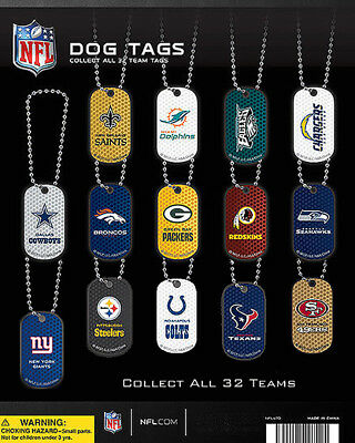 Vending Machine 1.00 Capsule Toys - Nfl Dog Tags