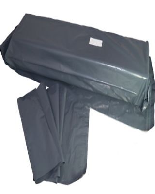 500 Grey Plastic Mailing Bags Size 12x35