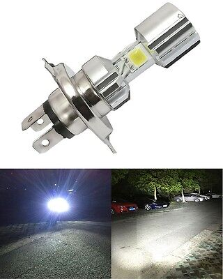 Used, H4 Motorcycle LED Headlight Hi/Lo Beam Front Light Bulb Lamp For Royal Enfield for sale  DELHI