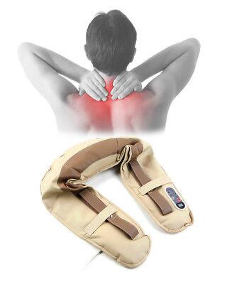 Massaggiatore cervicale Shiatsu per collo e spalle - Sistema a tamburo elettrico