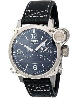 Oris BC4 Flight Timer GMT Men's Watch 690-7615-4164LS