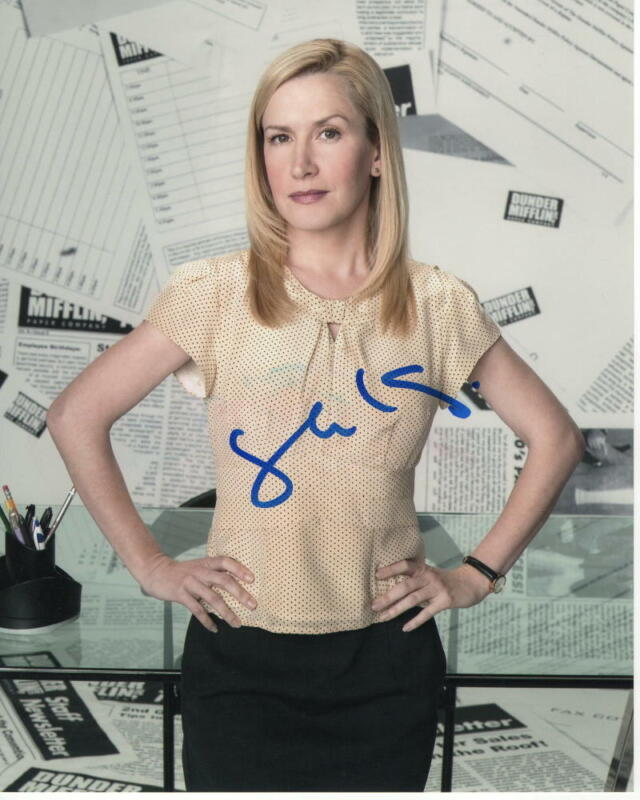 ANGELA KINSEY SIGNED AUTOGRAPH 8X10 PHOTO - THE OFFICE, JENNA FISCHER