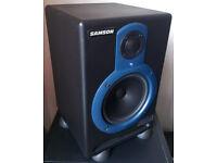 Samson Resolv 65a active studio monitors (pair) used
