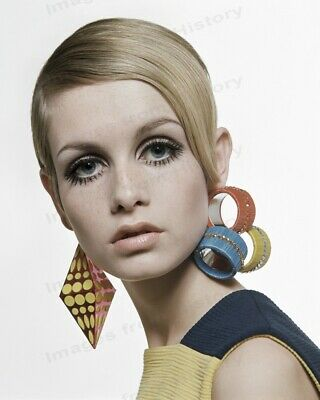 8x10 Print Twiggy Beautiful Portrait 1960's #TW