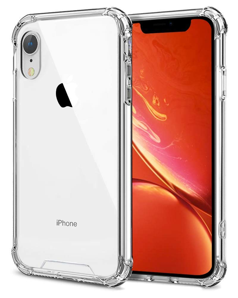 Slim Shockproof Protective TPU Bumper Case Cover Clear Transparent For iPhone XR Cases, Covers & Skins