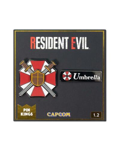 RESIDENT EVIL - PIN KINGS COLLECTIBLE PIN SET - BRAND NEW - PKS-RE-1.2