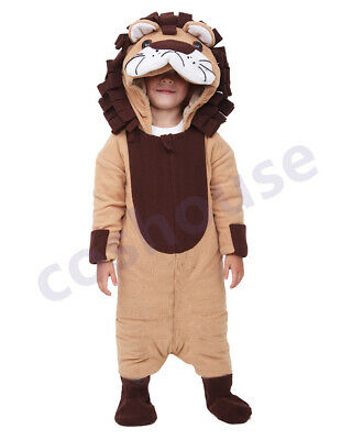 Little Lion Costume Baby Lion King Halloween Kid Costume Mascot US Free Shipping](Child King Costume)