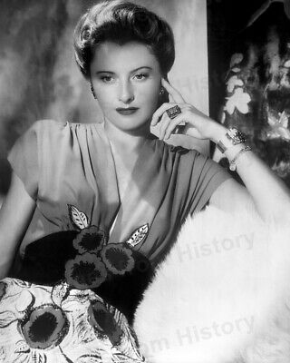 8x10 Print Barbara Stanwyck Beautiful Studio Portrait #2883
