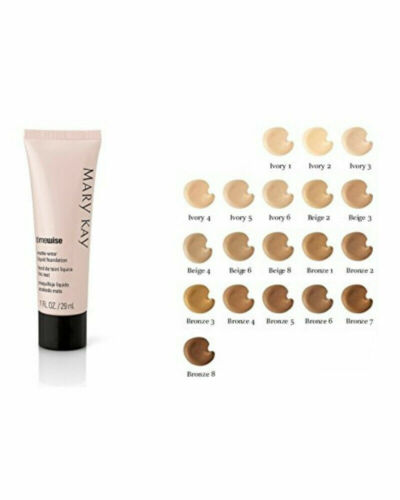 Mary Kay Timewise  Luminous Wear Liquid Foundation Choose Your Shade, N. TO DRY