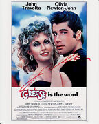Grease Poster Signed