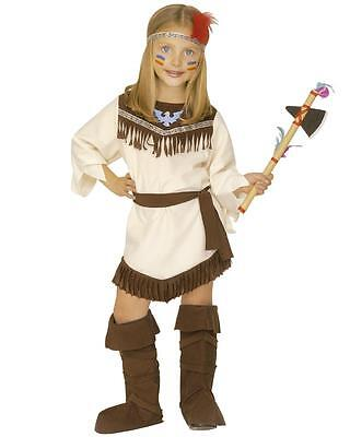 Costume Carnevale Indiana Travestimento per Bambine PS 05360