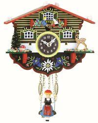 Black Forest Clock Swiss House  TU 55 SWQ NEW
