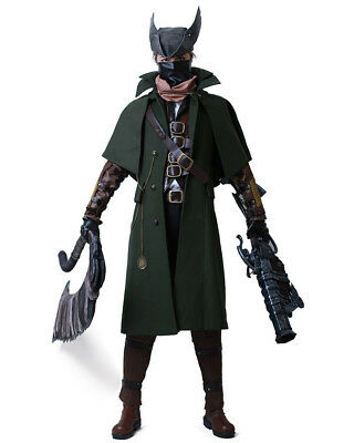 Old Man Outfit Halloween (Bloodborne The Old Hunters Cosplay Costume Halloween)